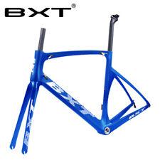 Full Carbon Road Bike Frame Fork Seatpost 700C BSA Racing Framesets Glossy/Matt