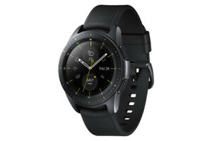 Samsung Galaxy Watch SM-R810 42mm Midnight Black Case Classic Buckle Onyx Black…