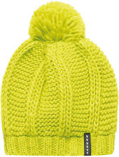 Dare2B Recognition Cable Knit Beanie Yellow Soft Fleece Winter Bobble Hat