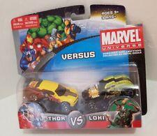 Thor vs. Loki Marvel Universe diecast car collection Maisto