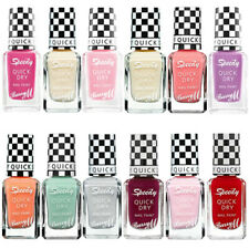 BARRY M  SPEEDY DRY INSTANT NAIL PAINT POLISH VARNISH MATTE   ** CHOOSE SHADE **