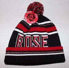Adidas Derrick Rose Ballie NBA Red White Black Red Beanie Cap Hat Chicago Bulls