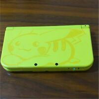 Nintendo 3DS LL Pokemon Pikachu Yellow Console Only  Japan Limited Model