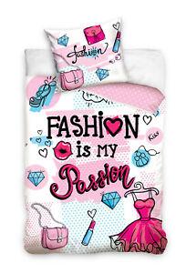 Fashion Jugend Bettwäsche 140 x 200 cm