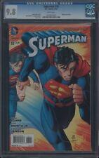 SUPERMAN (2011) #32 CGC 9.8 NM/MT WP 1ST APP OF OZ (JOR-EL)