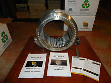 """PRE WELD HEATING 8"""" PIPE COIL HEATER 120VAC, 600,F MAX. HOT COILS MODEL#800, NEW"""