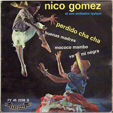 "NICO GOMEZ ""MO-CO-CO MAMBO"" LATIN JAZZ 60'S EP FESTIVAL 2238"