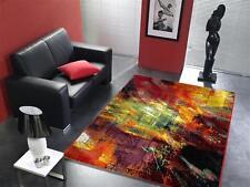 Tapis multicolore design HA026 NEUF Brosse moderne 160x230cm Multicolore