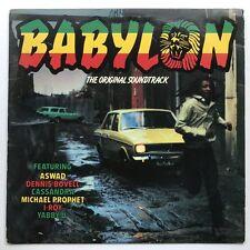 VA Babylon OST LP VG+/EX Dennis Bovell I-Roy Yabby U Aswad Reggae