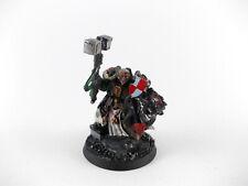Brother - Bruder Captain Stern der Grey Knights - bemalt Metall - 2