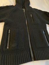 Vintage Adidas Muhammad Ali Hooded Cardigan Jacket Top, Size Small