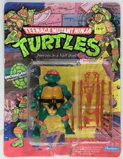 Playmates Toys vintage TMNT Teenage Mutant Ninja Turtles Michaelangelo 10 back