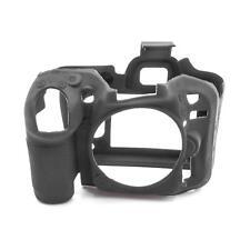 Cover Case Carcasa silicona negro para Nikon D7100, D7200