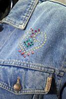 Giubbino Giacca Jacket Giubbotto Jeans Casucci Donna Woman Femme Frau Vintage