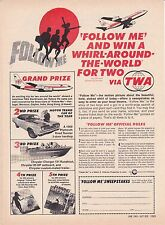 1969 WIN A ROAD RUNNER - MOTOR TREND CAR OF THE YEAR  ~  ORIGINAL SWEEPSTAKES AD