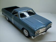 Chevrolet El Camino 1965 Light Metallic Blue 1 25 Model Maisto