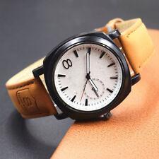 Waterproof Military Army Quartz Wrist Watch Men's Leather Strap Sport Waistwatch