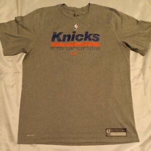 Nike NBA Dri-Fit New York Knicks Engineered Shirt CV3862-063 Size XL-Tall