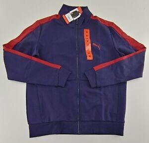 Men's Puma Long Sleeve Full Zip Track Jacket w/Pockets Medium M