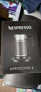 Nespresso Aeroccino4 Milk Frother. Brand New sealed.