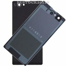 Black Back Cover Glass Battery Door for Sony Xperia Z1 Mini Compact D5503 M51W