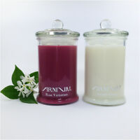HIGHLY SCENTED 100% SOY WAX CANDLE 55 hour burn NATURAL FRAGRANT CANDLES gifts