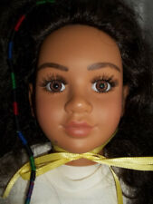 "My Twinn - Theresa - Brown Eyes - Dark Brown Hair - 23"" (04 skin tone)"
