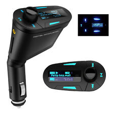KFZ Auto LKW FM Transmitter Radio SD TF USB Stick Musik MP3 Player Adapter LCD