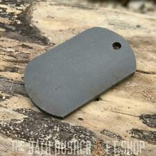 DOG TAG HIGH CARBON STEEL FERRO ROD STRIKER BUSHCRAFT SURVIVAL FIRELIGHTING