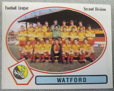 WATFORD PANINI'S FOOTBALL 82 STICKER FIGURINE PANINI TEAM