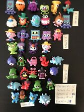Moshi Monsters Series 4 5 6 7 - 39 Figures and Collectable Cards Bundle Job lot