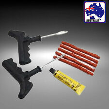 Car Bike Auto Tubeless Tyre Puncture Plug Repair Tool Kit 5 Strip VTYRE0801