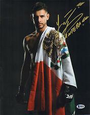 YAIR PANTERA RODRIGUEZ SIGNED AUTO'D 11X14 PHOTO BAS COA UFC 197 192 188 180 C