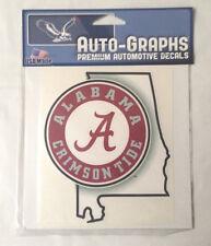 NCAA University of Alabama Crimson Tide PREMIUM VINYL AUTO DECAL college