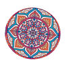 Elastic Round Tablecover Table Pad Decor Home Supplies Lotus Dia 1.2m