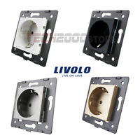LIVOLO MECANISMO ELECTRICO ENCHUFE PARED EU STANDARD WALL SOCKET