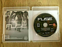 Fuse Sony PlayStation 3 PS3 Game MINT Disc Complete CIB Very Fast Ship World!