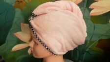 Turban Wet Hair Thick Water Absorbent Microfiber Towel Dry Hair 5 Times Faster.!