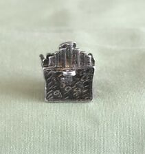 Vintage Sterling Silver Moving Pipe Organ Charm