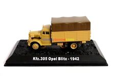 1/72 Diecast Tank German Kfz.305 Opel Blitz Truck Vehicle WWII Military Model