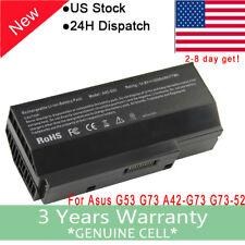 New Battery ASUS G73 A42-G73 G73-52 G73JH G73JW G73-52 G73j G53 G73SW G53S G53SV