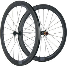 Carbon Wheelset Clincher Road Bike Wheel 50mm Carbon Wheels Chosen 7677 Sapim