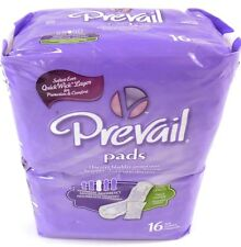 Prevail Discreet Bladder Protection Pads Moderate Long Length 1 pack of 16 NEW