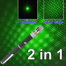 5mw 532nm Visible Beam Light Green Laser Pointer Pen Star Cap Projector Gracious