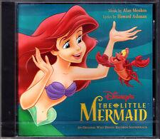 The Little Mermaid Alan Menken Howard Abdner OST CD Arielle la petite sirène NEUF