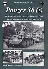 Tankograd 4012: Panzer 38 (t), Panzerkampfwagen 38 (t) Light Tanks Model A to G