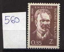 Finlandia / Finland 1964 Centenario nascita statista Emil Setala   MNH