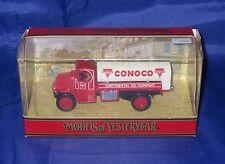 X077 MATCHBOX YESTERYEAR CAMION TRUCK MACK AC 1930 CONOCO Ref Y23-B TBE BOITE
