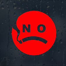 No Smoking Funny Sign Decal Vinyl Sticker Shops Pubs Cafes Hotels Bars Offices