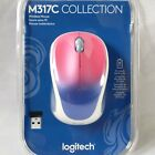 Logitech - Design Collection Wireless Mouse M317C, Blue Blush - NEW Sealed